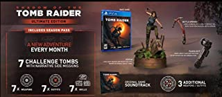 Shadow Of The Tomb Raider Ultimate Edition (PS4) [video game]