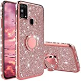 Compatibile con Cover Samsung Galaxy M31, Glitter Strass Diamante Bling Diamanti Custodia ...