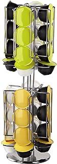 """Xavax Porte-capsules à café """"Rondello"""" (distributeur pour machineDolce Gusto, 32 capsules) Argent"""