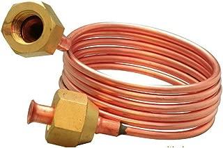 Copper Capillary Tube 3mm O.d X 900mm Length 1/4