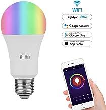 Blanc MARRYME Chargeur sans Fil Socle Smartphone Charge Mini Extra Fine Apparence Chargeur /à Induction LED 10 0.7cm