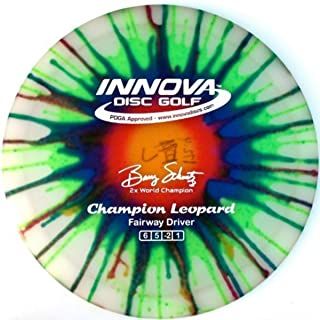 Innova Disc Golf I-Dye Champion Leopard Golf Disc, 170-172gm (Colors may vary)