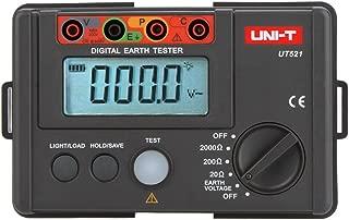 UNI-T UT-521 Digital Earth Tester Earth Ground Insulation Resistance Meter Ohmmeter Voltmeter 2000Ω