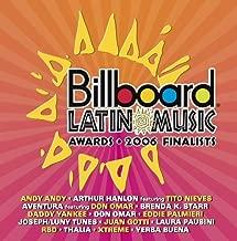 Billboard Latin Music Awards: Finalists by Billboard (2006-04-25)