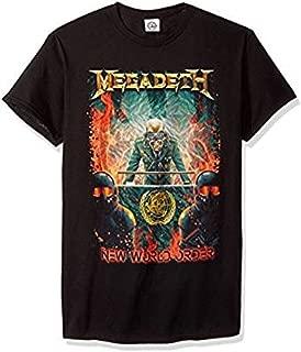 Megadeth New World Order Mens Adult T-Shirt Tee