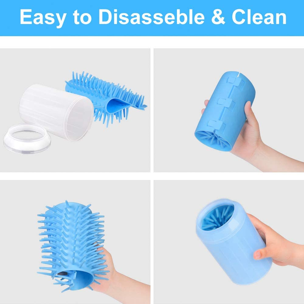 Soft Silicone Pet Feet Washer for Dog Cat Portable Pet Paw Cleaner Brush Cup CGBOOM Paw Cleaner