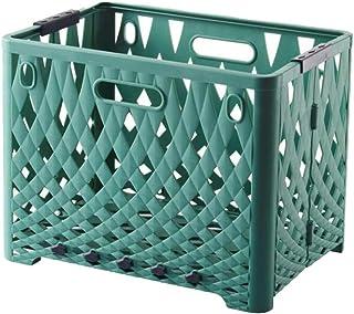 Panier de rangement en plastique pour salle de bain, chambre à coucher, armoire, cuisine, armoire, coffre de voiture, boît...