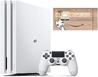 PlayStation 4 Pro グレイシャー・ホワイト 1TB (CUH-7200BB02)【Amazon.co.jp限定】オリジナルカスタムテーマ (配信)