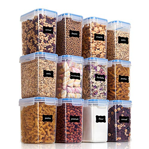 Vtopmart Airtight Food Storage Containers 12 Pieces 1.5qt / 1.6L-