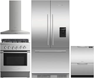 Fisher Paykel 4 Piece Kitchen Package RS36A72U1N 36