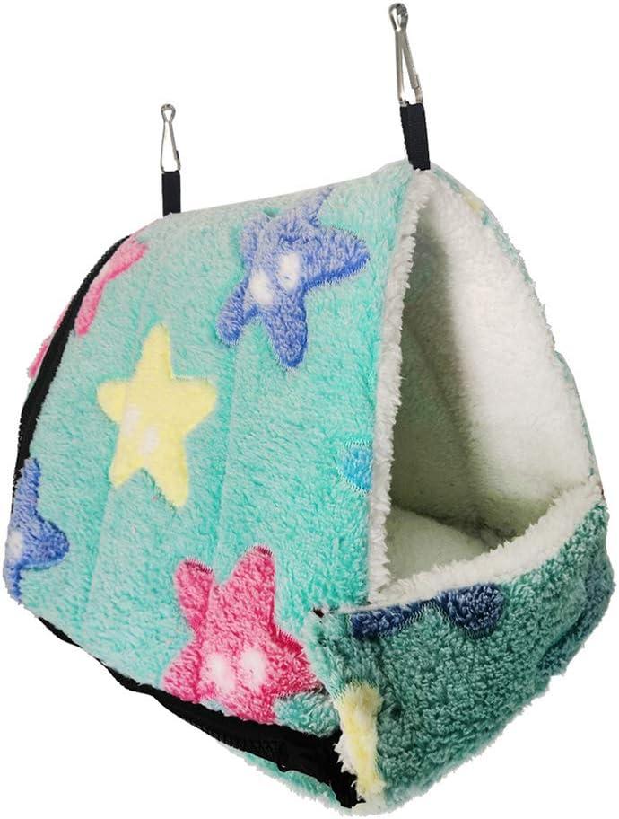 Fashionable TEHAUX Star Hedgehog Hammock Comfortable Superlatite Sleeping Hamster Bed Wi