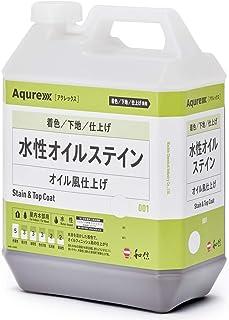 和信化学工業 Aqurex(アクレックス) 水性オイルステイン (3.5kg, OS-6 グリーン)