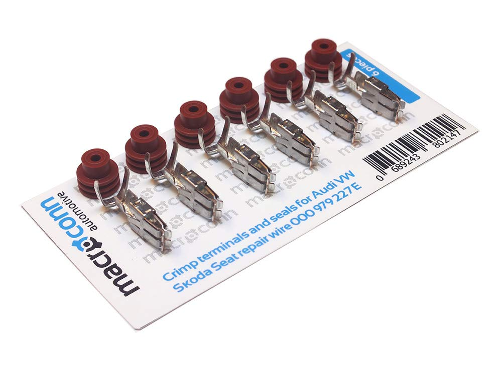 Macroconn crimp terminals and seals for repair wire 000979227E (