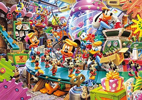 300ピース ジグソーパズル ディズニー ミッキーのトイファクトリー(30.5x43cm)