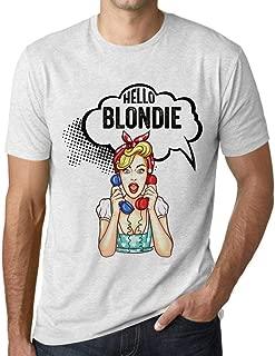 Men's Graphic T-Shirt Hello Blondie