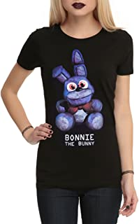 Hot Topic Five Nights At Freddy's Bonnie The Bunny Girls T-Shirt