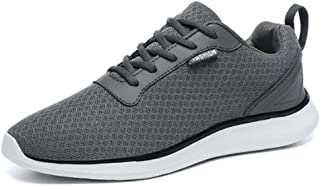 JIANKE Running Trainers for Men Lightweight Casual Sport Shoes Mesh Athletic Sneakers