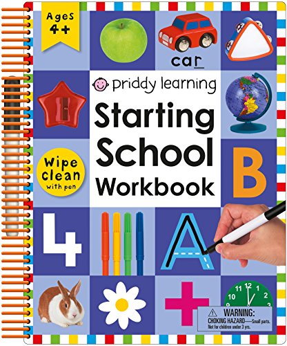 Wipe Clean: Starting School Workbook