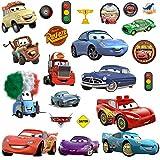 Disney Cars 3?Stickers muraux, Multicolore