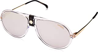 Carrera 1020/S Crystal/Silver Lens Mirror Sunglasses