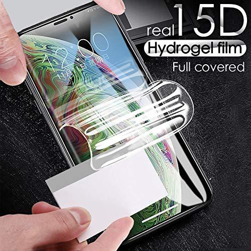 [3 paquetes]Protector de pantalla de hidrogel de cubierta completa 3D suave para Meizu M5 M3S M3 M6 Nota película protectora para Meizu Pro 6 7 U10 U20 MX6 -Para Meizu M3S_Película de hidrogel suave