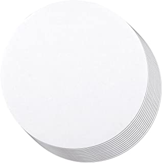 12-Pack Round Cake Boards, Cardboard Cake Circle Bases, 12 Inches Diameter, White