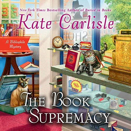 The Book Supremacy audiobook cover art