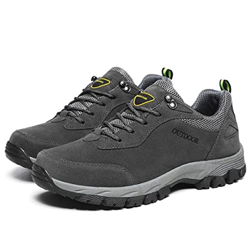 219465045952 gracosy Men s Hiking Trekking Shoes Mens Trainers Lace-up Lightweight Hiking  Boots Low Rise Walking