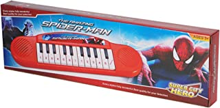 Yoshita Traders Multi-Functional Musical Kids Spider- Man Piano Toy for Boys and Girl (Multicolor)