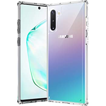 AEDILYS Compatible with Samsung Galaxy Note 10 Case,[Airbag Series] [ Military Grade ] | 15Ft. Drop Tested | [Scratch-Resistant] - Clear