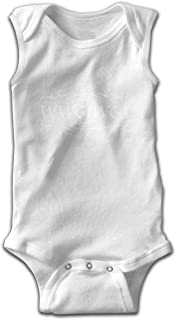 LOSPAPA Qanon WWG1WGA USA Q Short Sleeves Romper Bodysuit Onesie for Newborn Baby