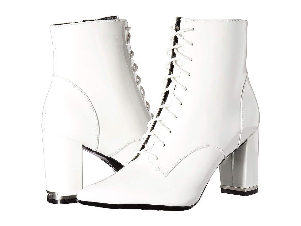 Calvin Klein Esma (Platinum White Patent) Women