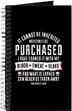 CafePress Iraq War Veteran Spiral Bound Journal Notebook, Personal Diary, Dot Grid