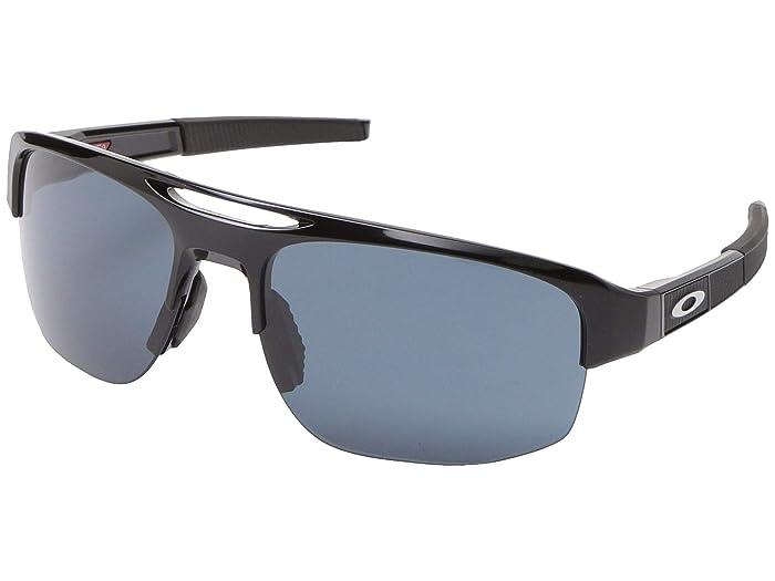 Oakley Mercenary (Polished Black w/PRIZM Grey) Fashion Sunglasses