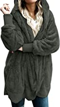 Winter Women Hooded Long Warm Soft Coat Jacket Hoodies Parka Outwear Comfy Cardigan Coat