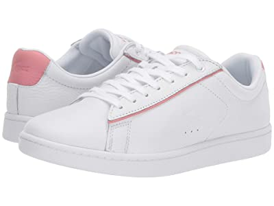 Lacoste Carnaby Evo 319 9 (White/Pink) Women