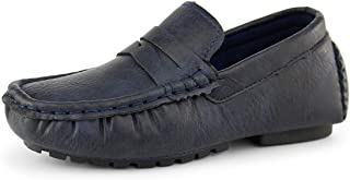 Sponsored Ad - Hawkwell Kids Casual Penny Loafer Moccasin Dress Driver Shoes(Toddler/Little Kid)