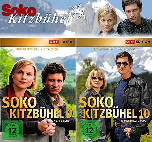 SOKO Kitzbühel - Box 9+10 (4 DVDs)