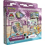 Pokemon TCG: Naoto Suzuki 2017 World Championship Deck Golisopod-GX Golisodor Deck Includes Full 60 Card Championship Deck, 2017 World Championship Booklet, Collector's Pin & Deck Box