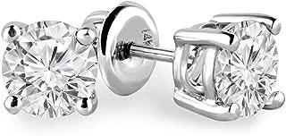 Best 1 ct diamond solitaire earrings Reviews