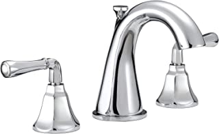 Mirabelle MIRWSCKW800CP Key West 1.2 GPM Widespread Bathroom Faucet - Metal Pop-Up Drain Included