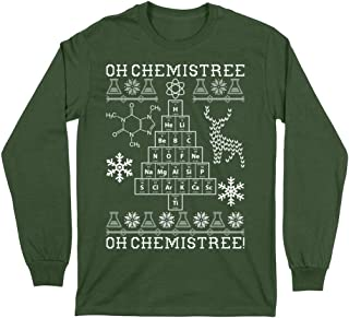 Oh Chemistree, Oh Chemistree! Ugly Christmas Chemistry Long Sleeve