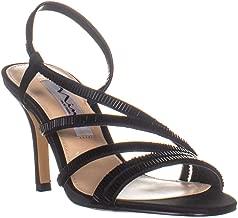 NINA Womens Amani Open Toe Casual Slingback Sandals