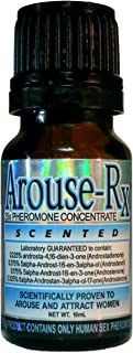 Arouse-Rx Sex Pheromones For Men: Scented Cologne Concentrate to Attract Women - 10mL