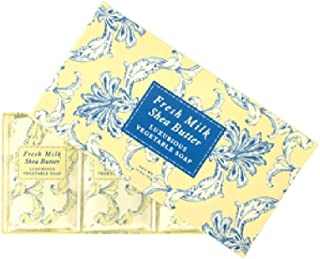 Greenwich Bay Trading Co. Luxurious Vegetable Soap, 12.9 Ounce, Fresh Milk, 3 Pack