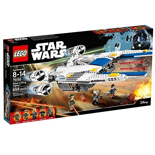 659 Count LEGO Star Wars Rebel U-Wing Fighter Model#75155 by LEGO