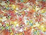 Floral Print Viskose Spanisch Kleid Stoff