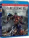 Transformers 4: La Era De La Extinción (BD 3D + BD + BD Extras + DVD) [Blu-ray]