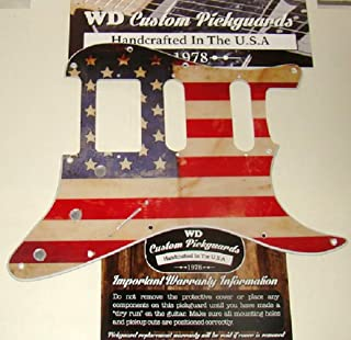 American Flag Relic Replacement Pickguard For Stratocaster, For Humbucker & Two Single Coil