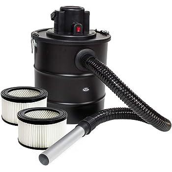 TecTake Aspirador de cenizas 20 litros 1200 vatios Filtro de ...